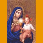 Our Lady of the Most Blessed Sacrament All Occasion Card