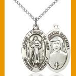 Divine Mercy/St. Faustina medal